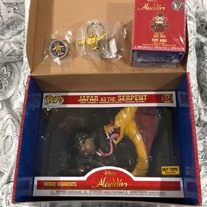 Funko POP! Treasures: Aladdin Box w/ Jafar POP!